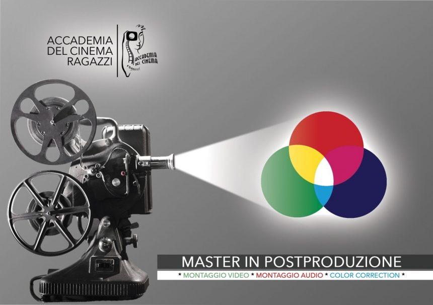 027d37c45c MASTER IN POST-PRODUZIONE Scolpire il tempo| Forgiare il suono| Plasmare  l'immagine | Accademia del Cinema Ragazzi